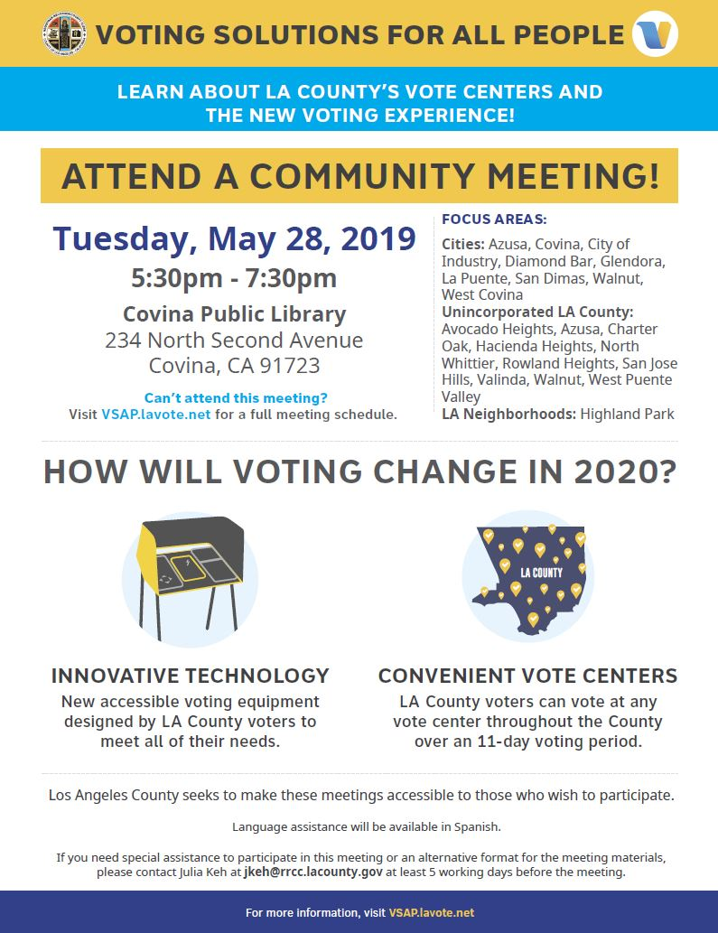 Voting Solutions for All People | City of Covina California