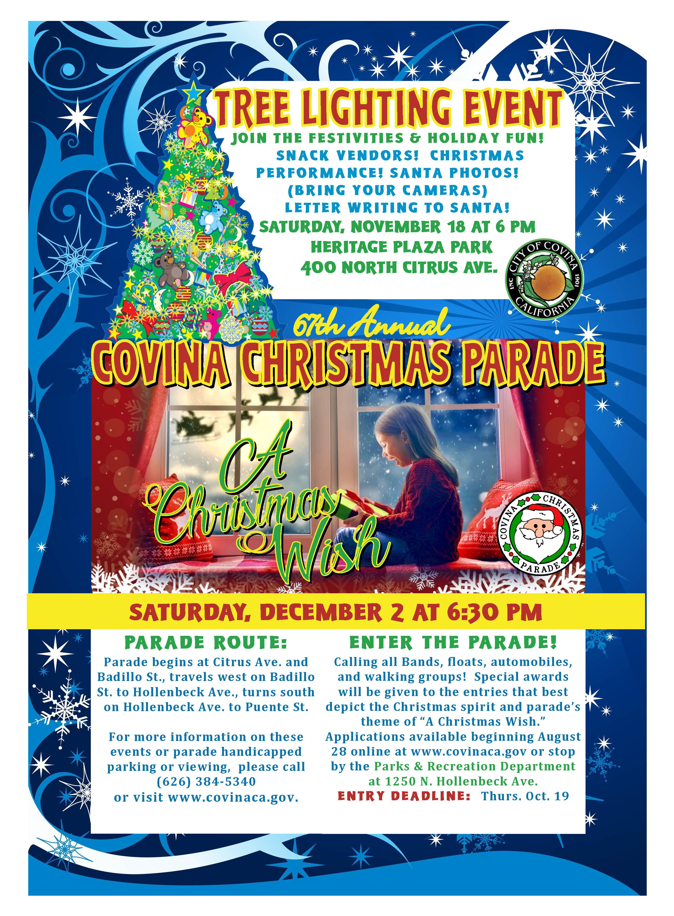 Covina Christmas Parade | City of Covina California