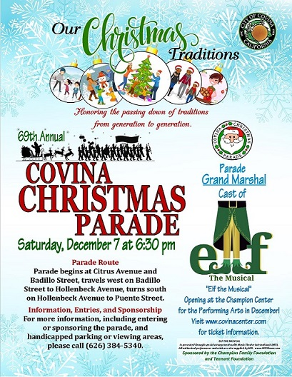 Christmas Parades Near Me 2019.Covina Christmas Parade City Of Covina California